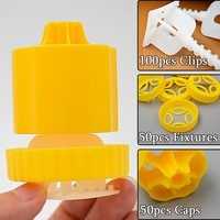 Tile Leveling System Caps Clips Fixtures Cross Spacers Level Tiles Tiling Sistem Alignment Accessories Tools 1