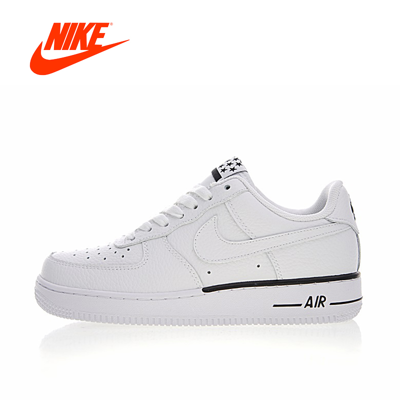Original New Arrival Authentic Nike Air Force 1 AF1 Low Women's Skateboarding Shoes Sport Sneakers Good Quality 596728-103