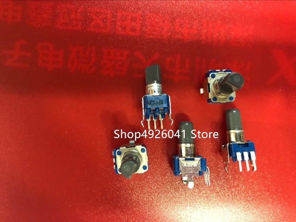 2 шт., роторный потенциометр RK09D1130C89 b505, длина вала 20 мм, объемный потенциал, ручка 50 к, 7 мм
