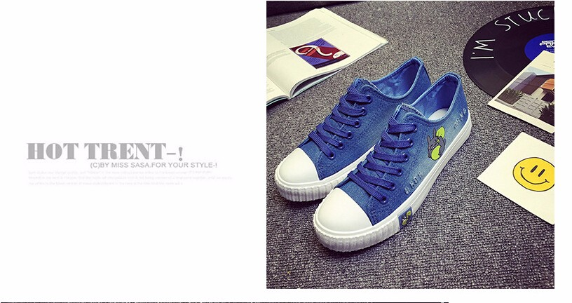Free Shipping Spring and Autumn Men Canvas Shoes High Quality Fashion Casual Shoes Low Top Brand Single Shoes Thick Sole 7583 -  -  -  -  -  -  -  -  (3)