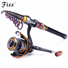 Cheapest prices 99% Carbon Portable Telescopic Fishing Rod Exclusive Spinning Sea Fishing Rod Pole 1.8/2.1/2.4/2.7/3.0/3.6M Men's Christmas Gift