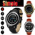 Free DHL Simple Thin IPS DM365 Smart Watch LCD Round Screen Bluetooth 4.0 MTK2502 Smartwatch Sync for IOS Android Phone VS DM360