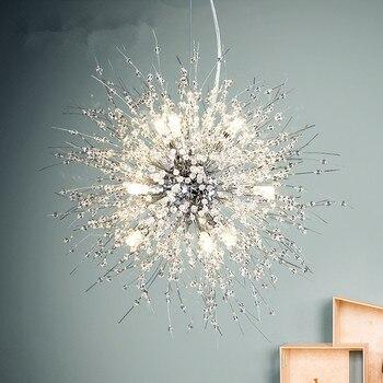 الحديثة كريستال الثريا الكروم الذهبي الغرور تعليق الثريا شنقا LED الإضاءة بريقا لغرفة المعيشة نادي الأعمال
