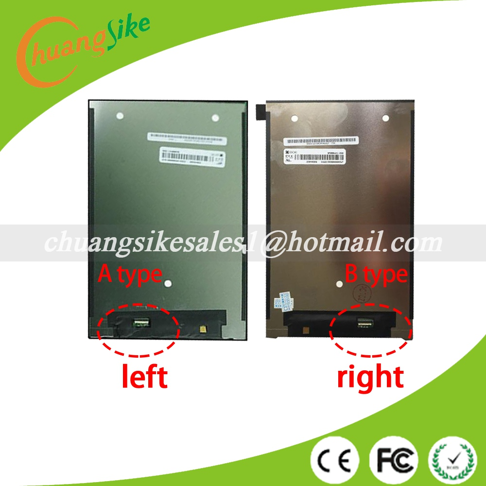 A+ 8 inch BP080WX1-200 For Huawei Tablet T1-821L LCD display Digitizer Sensor Replacement LCD screen B TYPE