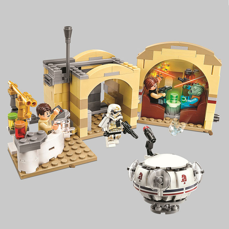 Star Wars Mos Eisley Cantina Chalmuns Cantina formation briques de construction jouets compatibles avec Legoings filmStar Wars Mos Eisley Cantina Chalmuns Cantina formation briques de construction jouets compatibles avec Legoings film