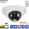 LWST Newest MINI IR Dome Camera Vandalproof & Weatherproof IP66 2MP IP Camera FULL HD 1080P 2MP IPC HI3516C+SONY IMX323 Webcam