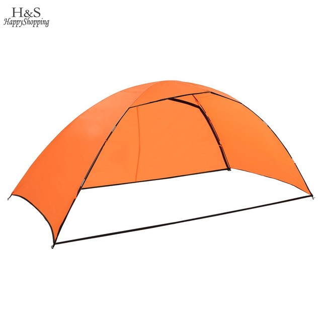 Portable Orange Folding Tent 3-4 person Fishing Sunshade Beach Outdoor Camping Tent Shelter high quality us6