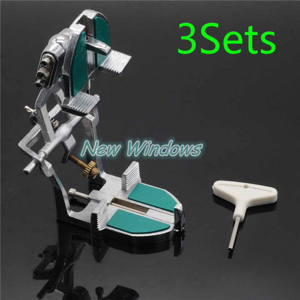 Sale New 3Sets Adjustable Teeth A2 Articulator For Dental Lab Dentist Equipment