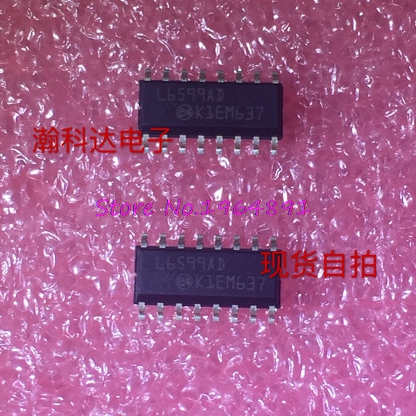 1pcs/lot L6599ADTR L6599AD L6599A L6599 SOP-16 In Stock