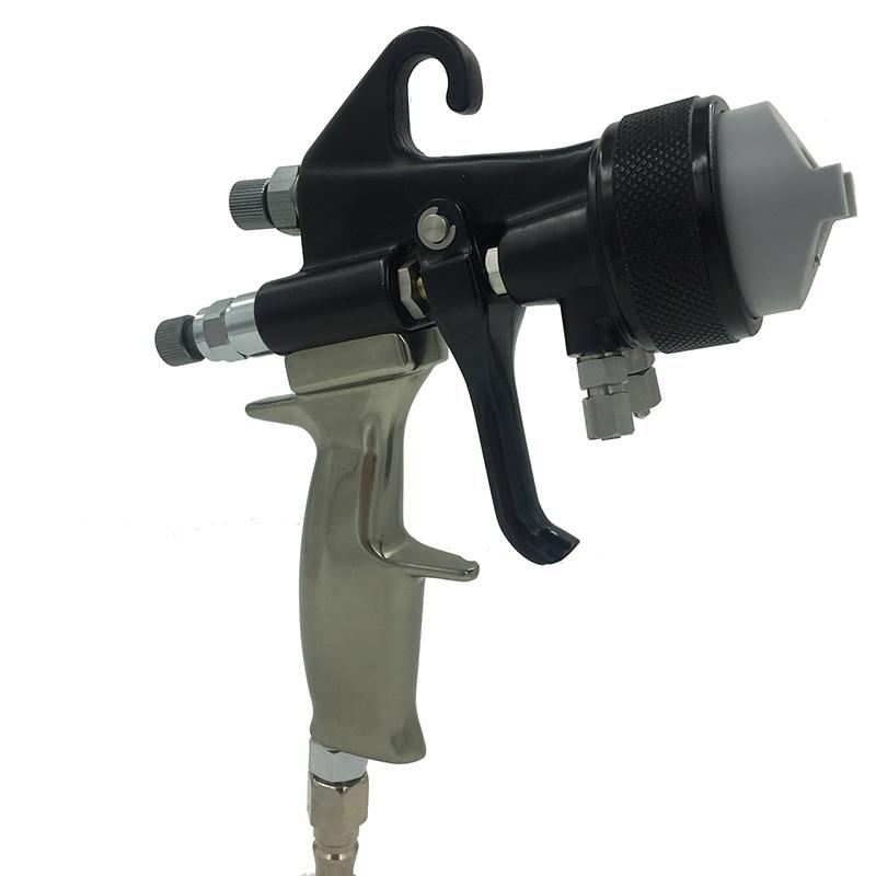 SAT1205 värvipüstol hvlp õhuvahu pihustuspeegel kroomvärv nano - Elektrilised tööriistad - Foto 2