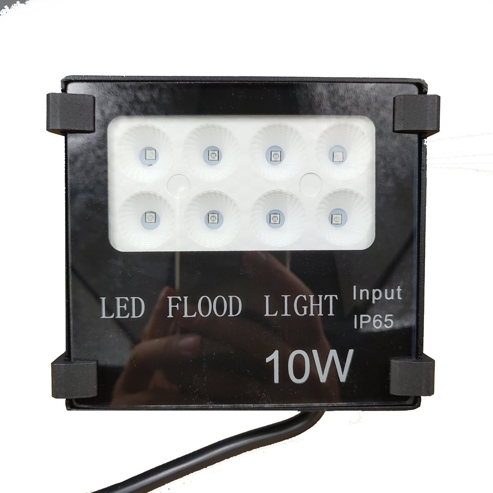 Parking Garage Lighting Controls: Heavy Duty LED 10W RGB Floodlight Light For Display Scene