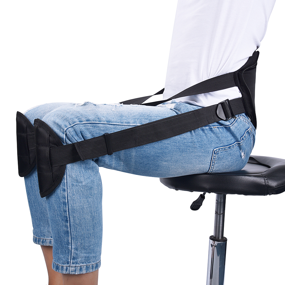 Portable Posture Corrector Back Support Belt Pad for Better Sitting Size Adjustable Therapy Posture Correction for Pain Relief free size o x form legs posture corrector belt braces