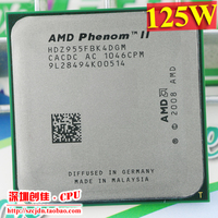 Free Shipping AMD Phenom II X4 955 HDZ955FBK4DGM CPU Processor 3 2GHz 6MB Black Edition Socket