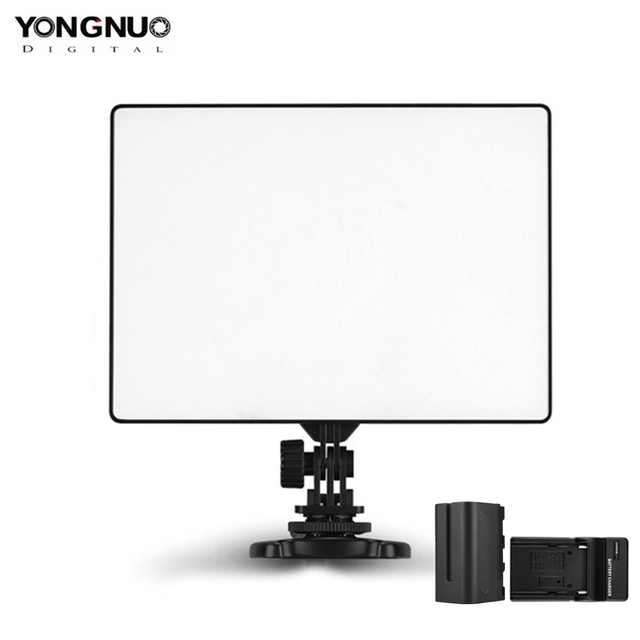 YONGNUO YN300 Air 3200k-5500k YN300Air Pro LED Camera Video Light with NP-F750 Battery and Charger for Canon Nikon