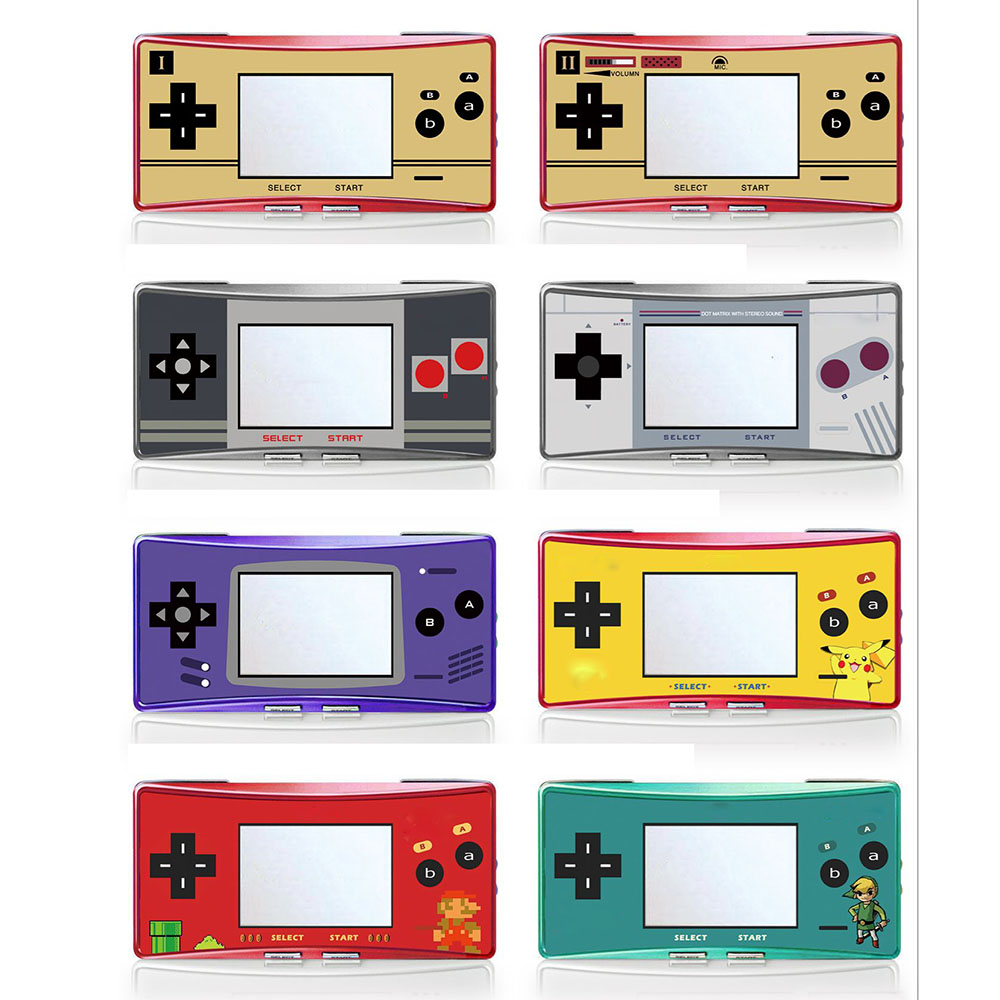 Us 1 43 8 Off Limited Edition Label Sticker For Gameboy Micro Gbm Console Housing Front Cover Skin In Replacement Parts Accessories From Consumer