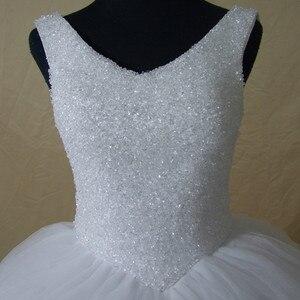 Image 5 - Robe De mariée luxueuse à Bling, robe De mariée sur mesure, pour la mariée en grande taille, nouvelle collection 2020