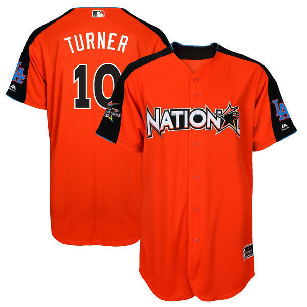 MLB Mens National League Justin Turner Baseball 2017 MLB All-Star Game Home Run Derby Player Jersey