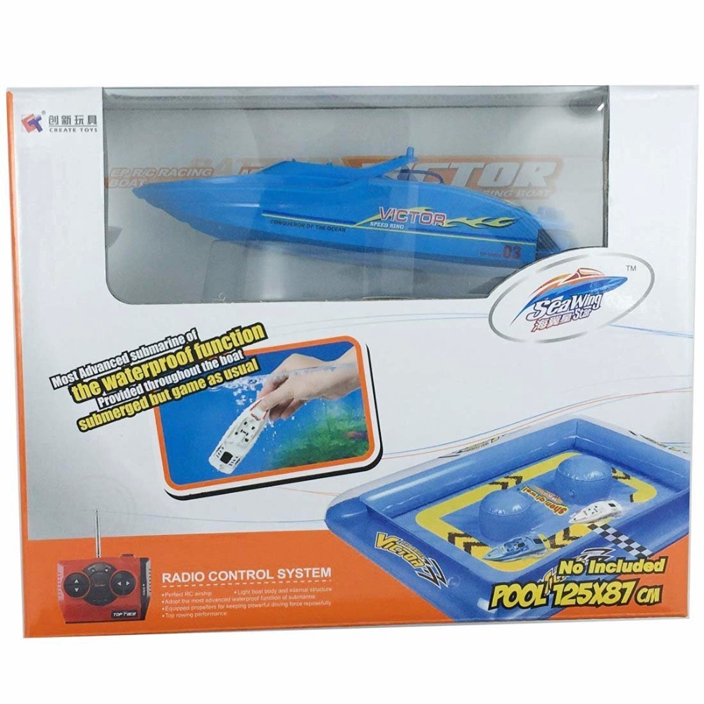 Wasserdichte Mini Wiederaufladbare Fernbedienung Boot Pool ...