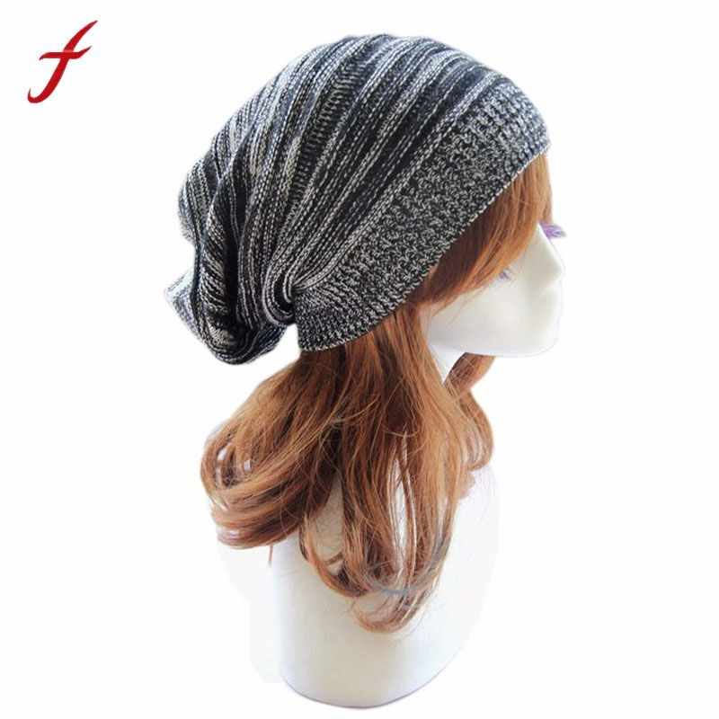76e850de9db soft rabbit double knitting thick bonnet beanie caps solid warm winter hats  for women s cap skullies