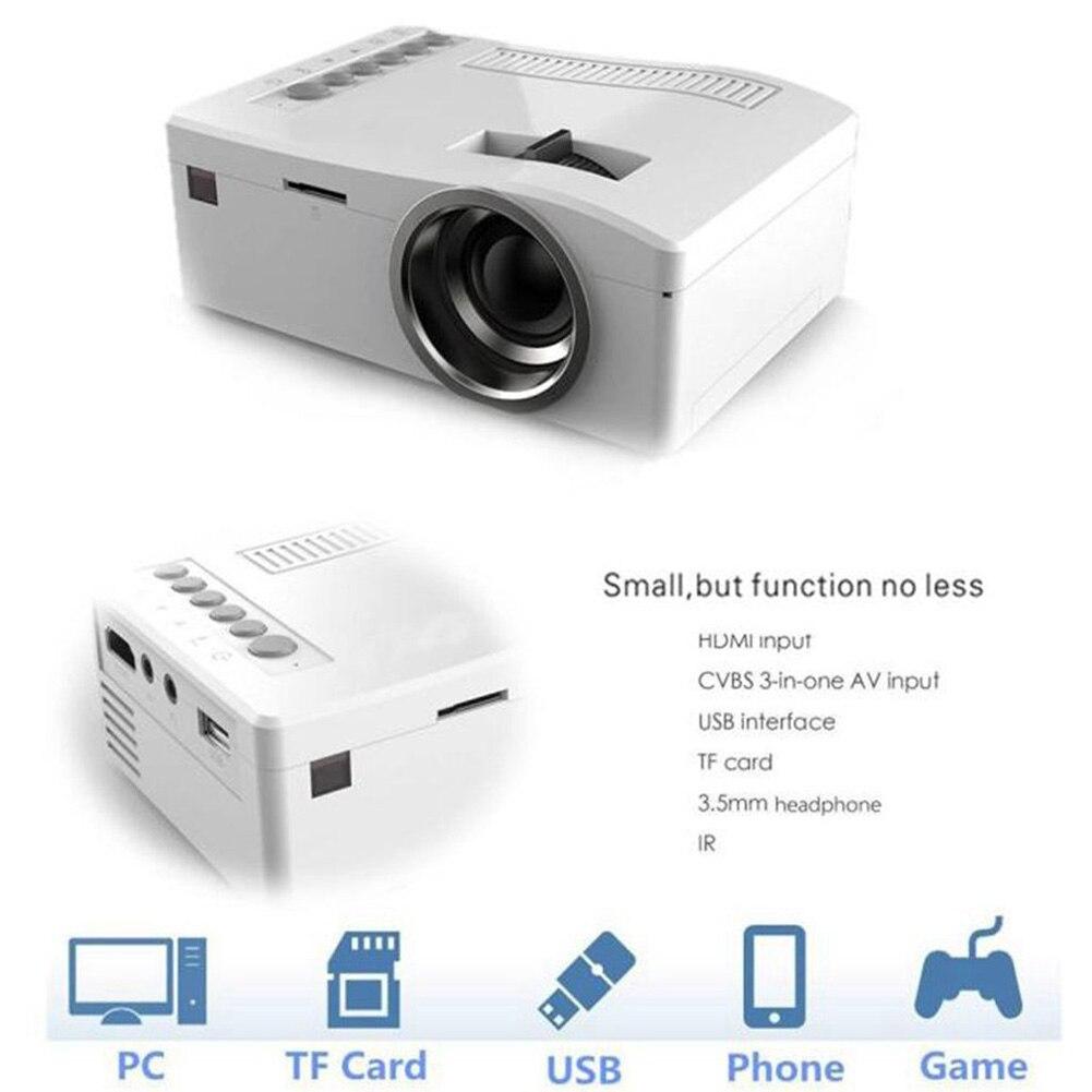 1080P HD Smart Home Mini Mulitmedia Projector 3