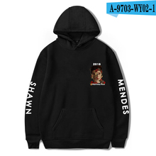 Shawn Mendes Hoodie Canada Popular Singer Hooded Tracksuit Pullover Printed Oversized Hip Hop Shawn Mendes Clothes Hoodies Women shawn mendes tokyo