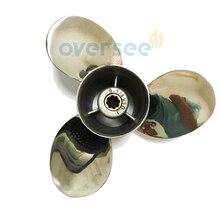 Stainless Steel Propeller 63V-45952-00-EL 9-1/4×10 For Yamaha Outboard Engine 9.9HP 15HP 682 63V 6B4 9 1/4×10