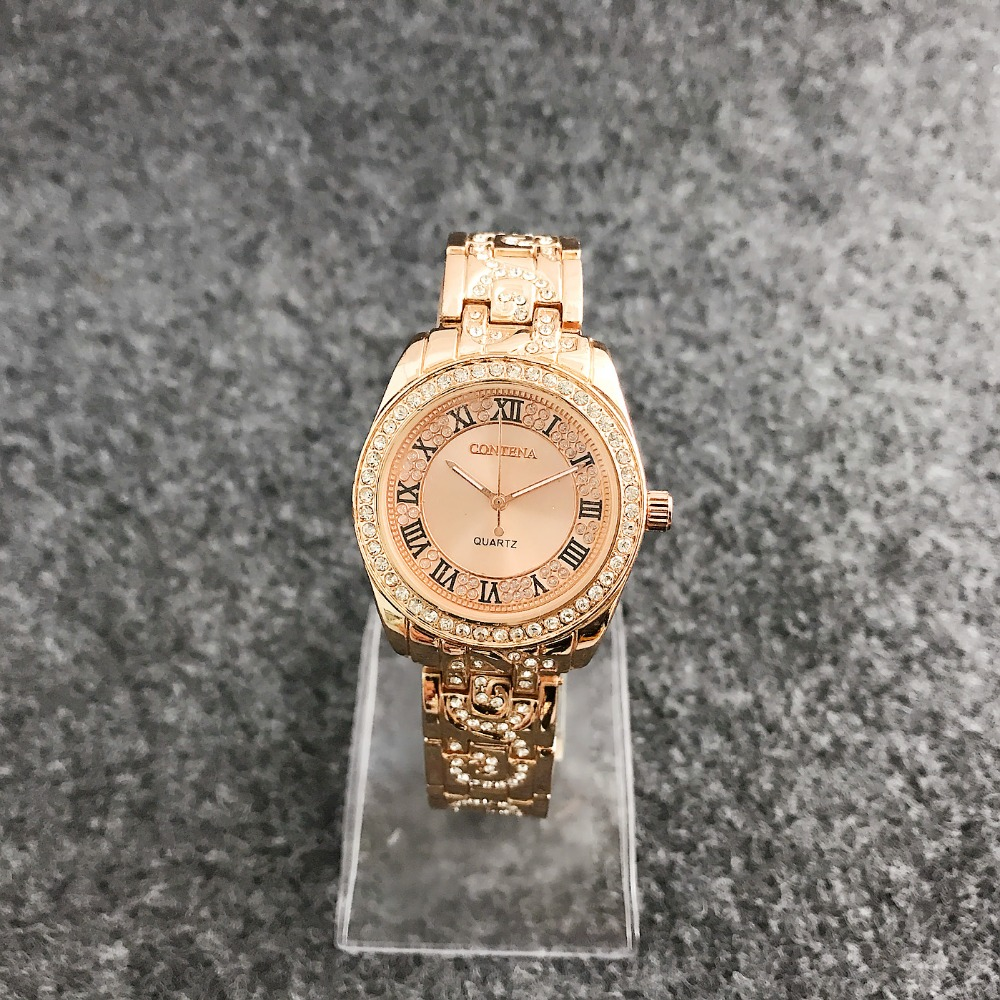 Luxury Brand Stainless Steel Quartz Watch Men Women Fashion Bracelet Wrist Watch Wristwatches Clock new fashion watch women luxury brand quartz watch women stainless steel dress bracelet wristwatches hours female clock xfcs