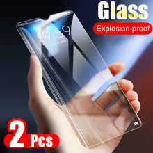 2pcs/Lot 9H Tempered Glass For Huawei P30 P20 Pro P10 P8 P9 Lite Plus 2017 2015 Screen Protector Explosion Proof Protective Film(China)