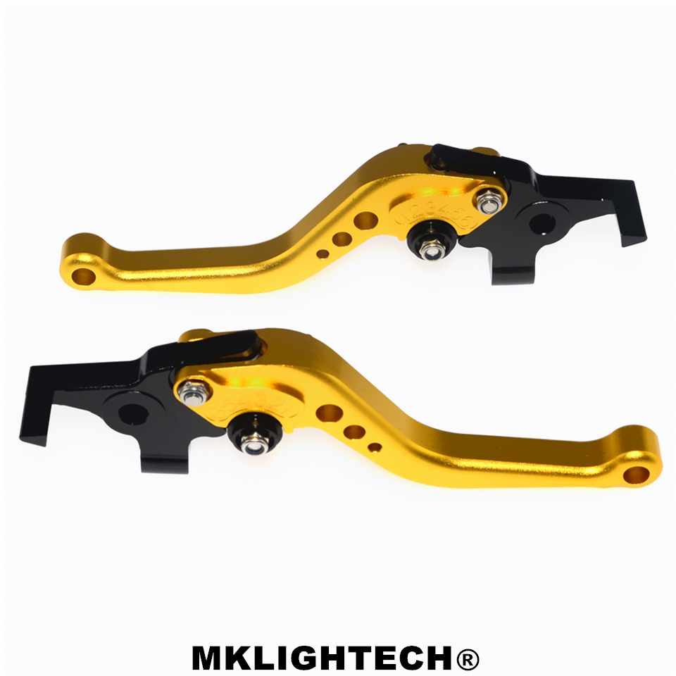 MKLIGHTECH FOR DUCATI 1198 S R 09 11 1098 S Tricolor 07 08 848 EVO 07 13 Motorcycle Accessories CNC Short Brake Clutch Levers in Levers Ropes Cables from Automobiles Motorcycles