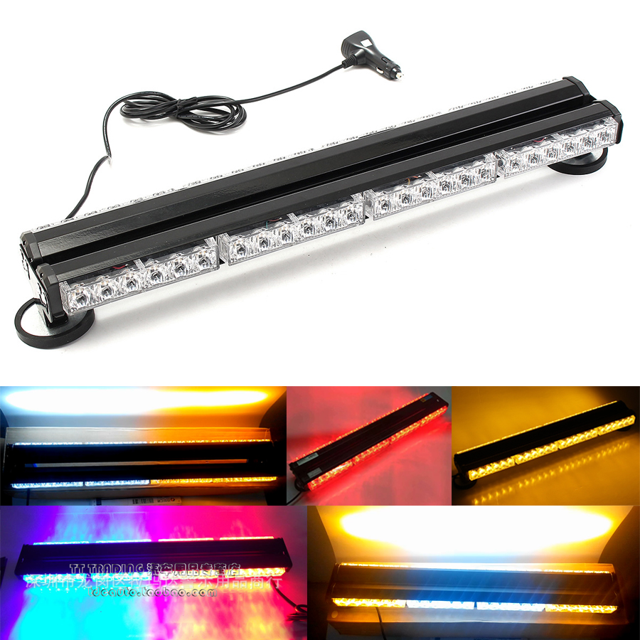 Super Bright Car Vehicle 12V 24 Double Side LED Work Light Bar Garden Beacon Light Auto Emergency Warning Strobe Lights Amber 25 20pcs makeup brushes beauty tool set foundation blending blush eye shadow brow lash fan lip face make up brush kabuki kit
