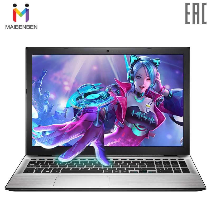 Ультратонкий ноутбук MAIBENBEN XIAOMAI5 15,6 дюймов FHD/TN/4415U/8G/240G SSD (M.2)/видеокарта GT 940MX-1G/DOS/серебристый
