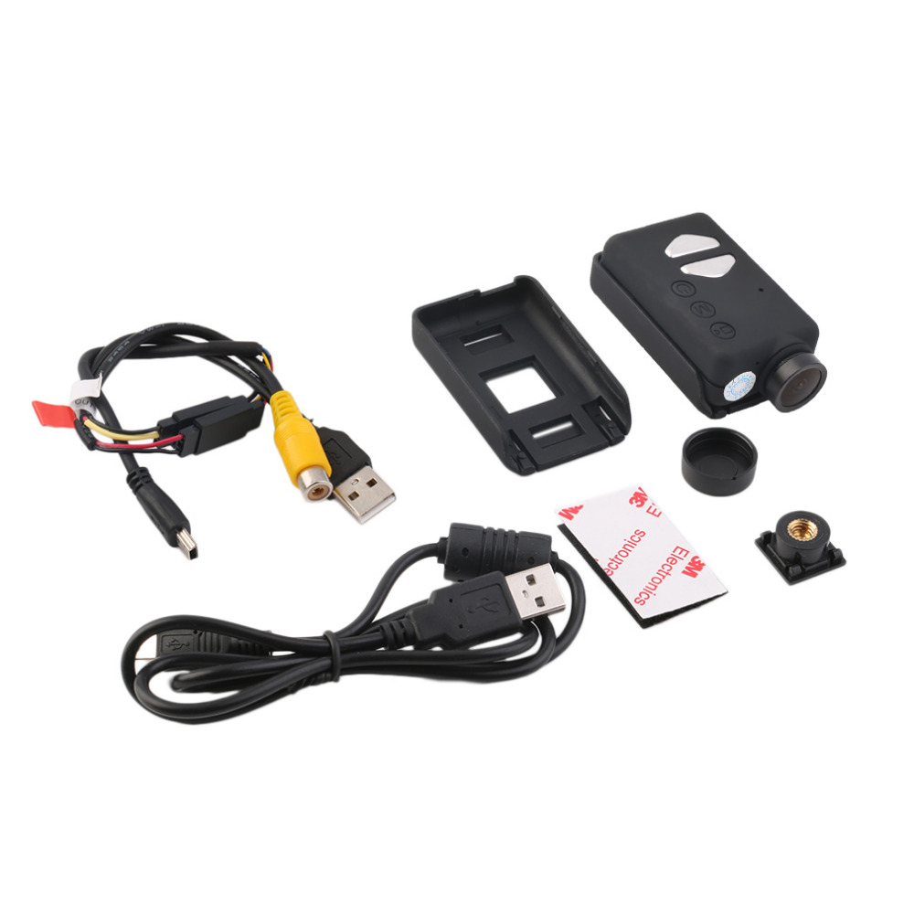 ActionCam Pocket Camcorder HD 1080P 30FPS 120 Degree Wide Angle for FPV
