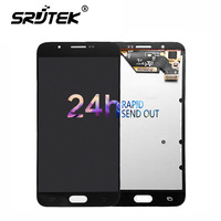 Warranty 5 7 Super AMOLED Display For SAMSUNG Galaxy A8 LCD Display A8000 A800 A800F Touch