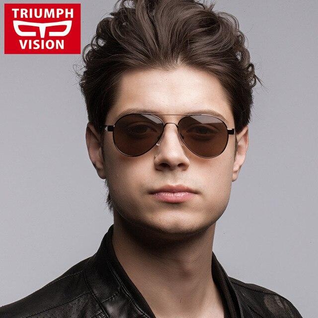 brown lens aviator sunglasses  Aliexpress.com : Buy 2015 Fashion Sunglasses For Men Outdoor ...