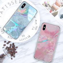 Luxury Glossy Marble Veins Phone Case For iPhone X XS XR 6 6S 7 8 Plus Soft Back Cover MAX Cases Fashion TPU