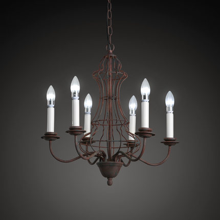 Лофт Стиль гладить Винтаж подвесные светильники American Retro подсвечник лампы Обеденная висит Droplight Освещение в помещении