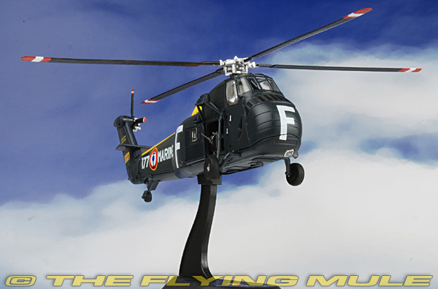 1/72 Scale Model Sikorsky UH-34D helicopter carrier hippocampus Aeronavale, 1964 Alloy Helicopter Model Favorites Model