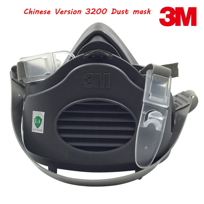 3M 3200 respirator dust mask Chinese Version dust mask against dust smoke PM2.5 welding mask головка торцевая jtc torx 1 4 e8 jtc 22008