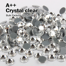 High quality Hotfix Rhinestones Similar SWA Crystal clear Rhinestone Bulk  Packing Wholesale SS6 SS8 SS10 SS12 5e900cece35f
