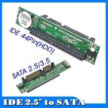 Kebidumei IDE Sata 2.5 inç IDE dişi 40 pin portu 2.5 Sata dişi 1.5Gbs destek ATA 133 100 HDD CD DVD seri adaptör