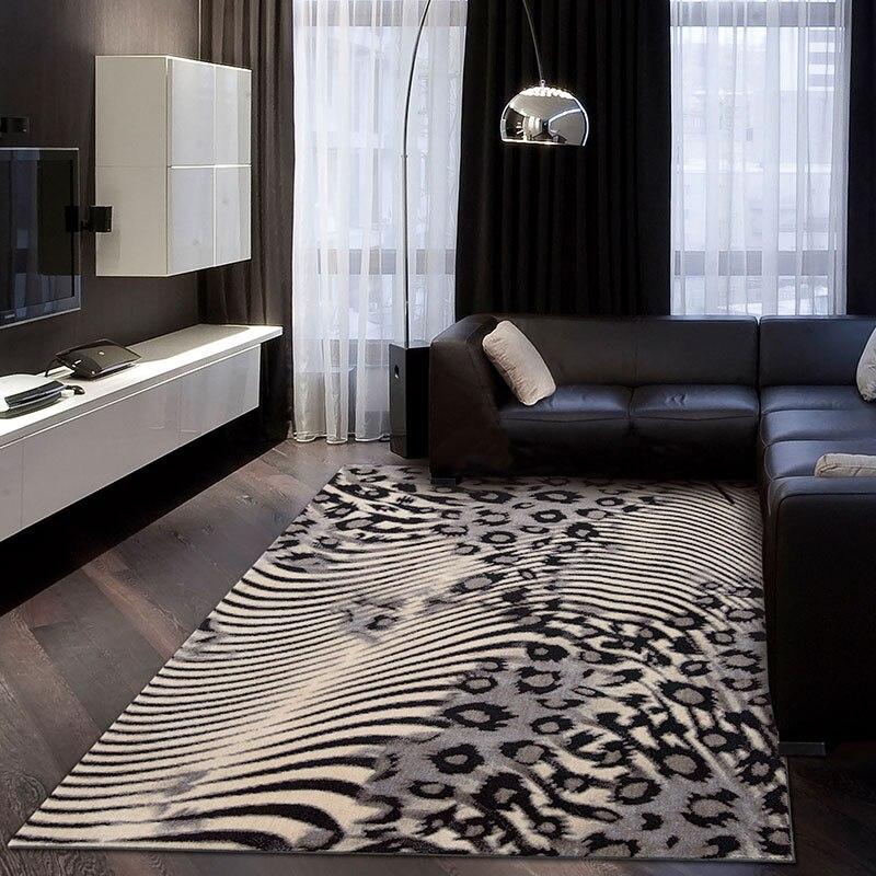 Nourison Fashion Brief Modern Carpet Leopard Print Bedroom