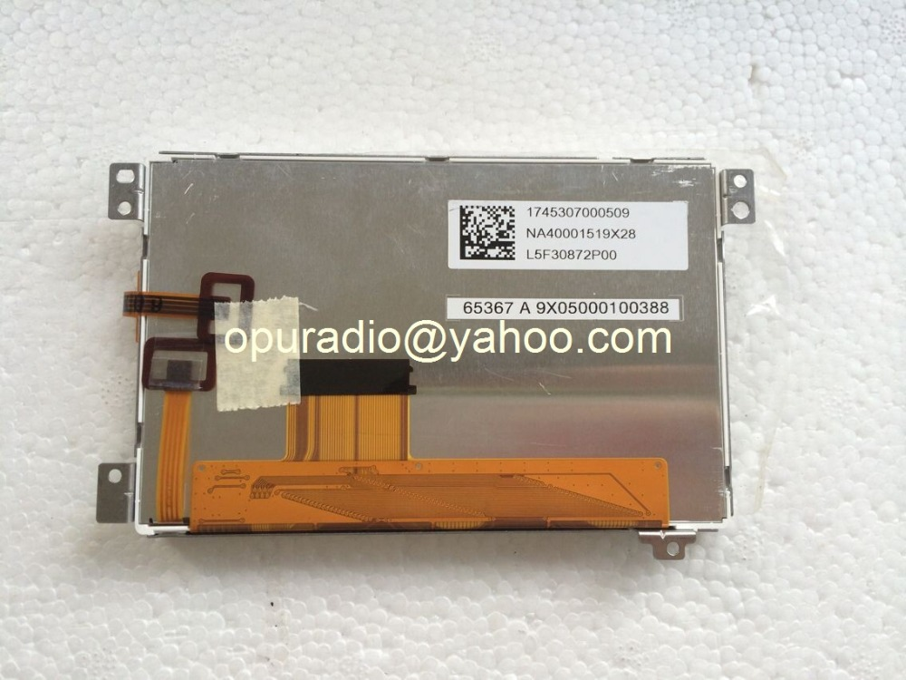 TPO 5 lcd display L5F30872P02 L5F30872P00 L5F30872P01 with touch panel for VW RNS310 Skoda RNS315 RNS313