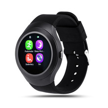 Electronic Smart Watch L6S Smart Monitor Steel Full Round SleepTracker Wearable Devices for Apple Androld Iphone Smartwatch