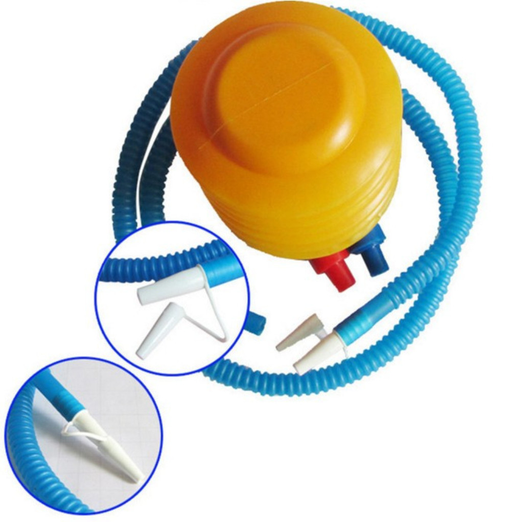 1Pcs Pool Foot Ball Air Inflatable Balloons Foot Inflator Pump Inflator Pump for Swimming Rings