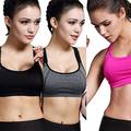 New Hot Fashion Girl Women   Padded Bra  Fitness ning Top Tank Racerback