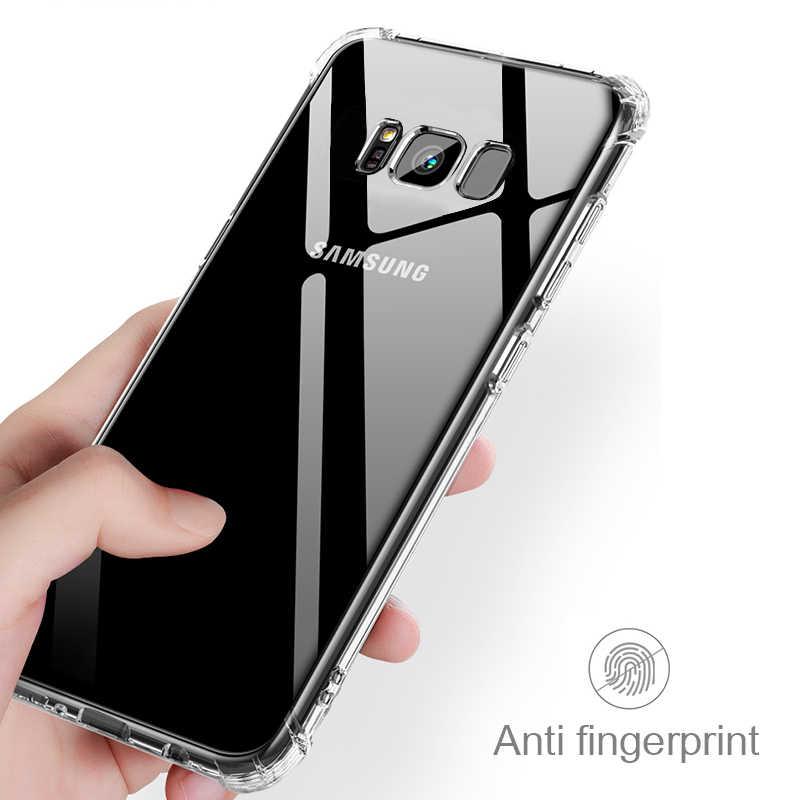 Pieno Proteggere Airbag Per Il Caso di Samsung Galaxy S10 Lite S9 S8 Più Nota 8 A8S A6S A6 A7 A8 A9 più 2018 J2 J3 J4 J5 J6 J7 J8 Core