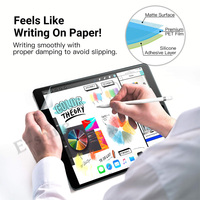2PCS Paper Texture Film For iPad Pro 10.2 10.5 11 Paper Like Anti Glare Matte Screen Protector Film Get Free Pencil Tip Cover