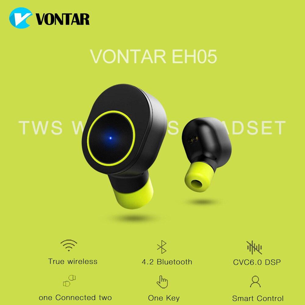 VONTAR EH05 senza wired auricolari Bluetooth 4.2 Dual Unità con ricarica scatola gaming cuffie per xiomi