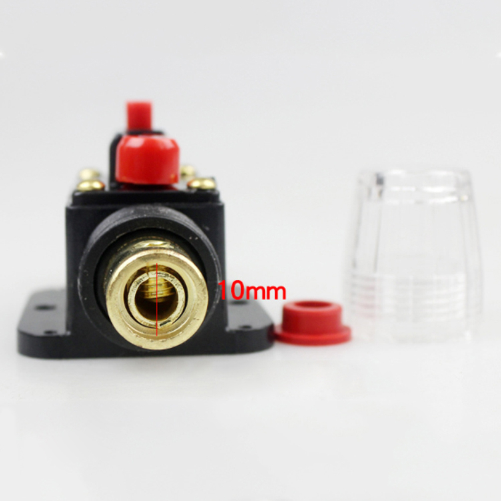 2Pcs Car 30Amp Circuit Breaker Manual Reset Kill Switch Protective Fuse Holder in Fuses from Automobiles Motorcycles