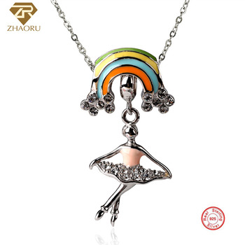 6b9e74d7f7a5 MALANDA marca círculo redondo collar cristales de SWAROVSKI moda Metal  colgantes collares para ...